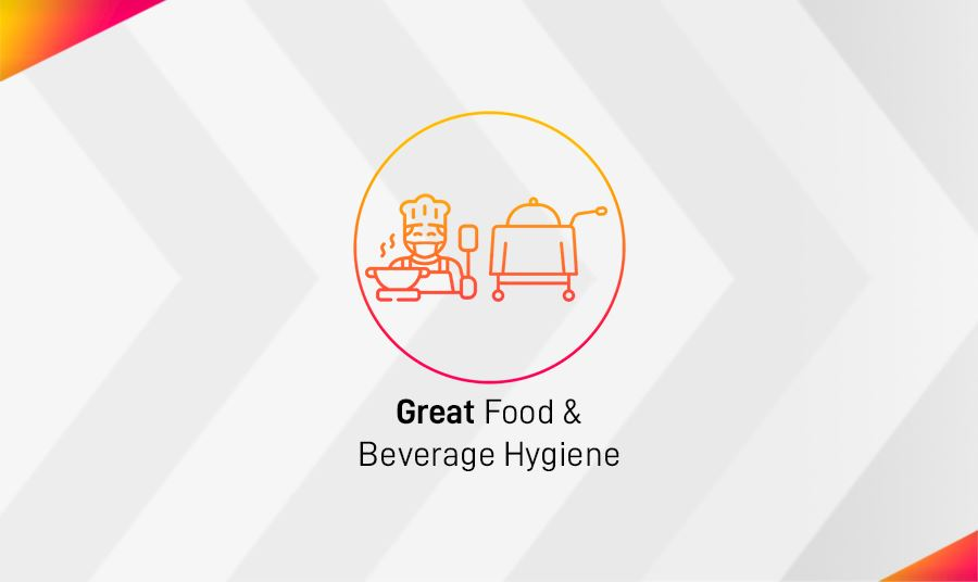 The Ginger 5G Safety Assurance Promises to Provide Great F&B Hygiene