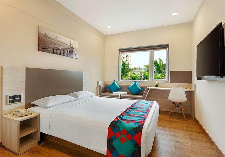 Queen Bedded Room of Ginger Hotel