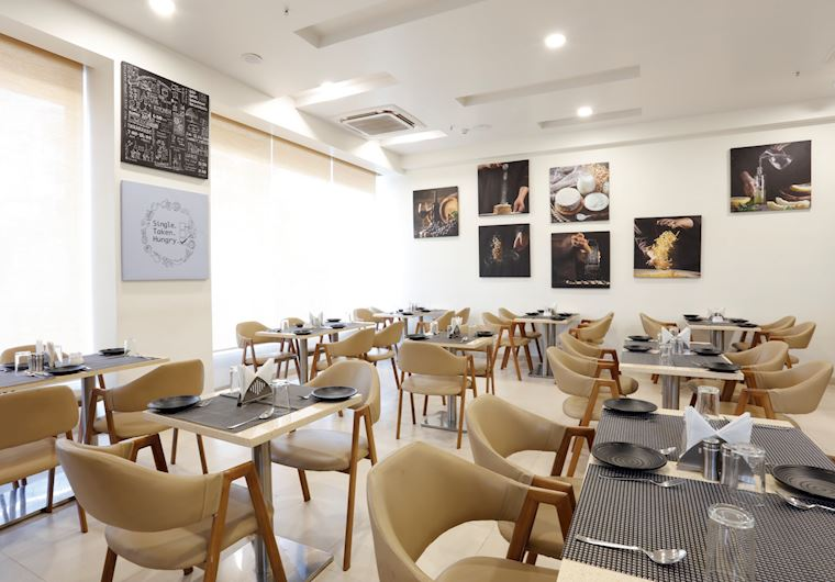Restaurant at Ginger Hotel Aurangabad