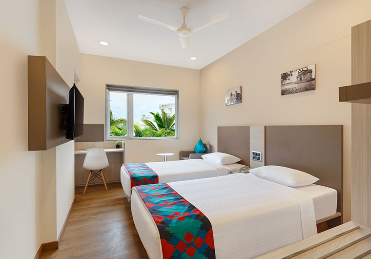 Twin Bed Room of Ginger Hotel