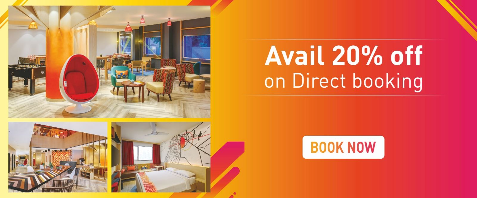 Best Rate Guarantee at Ginger Hotel. 20% Off on stay