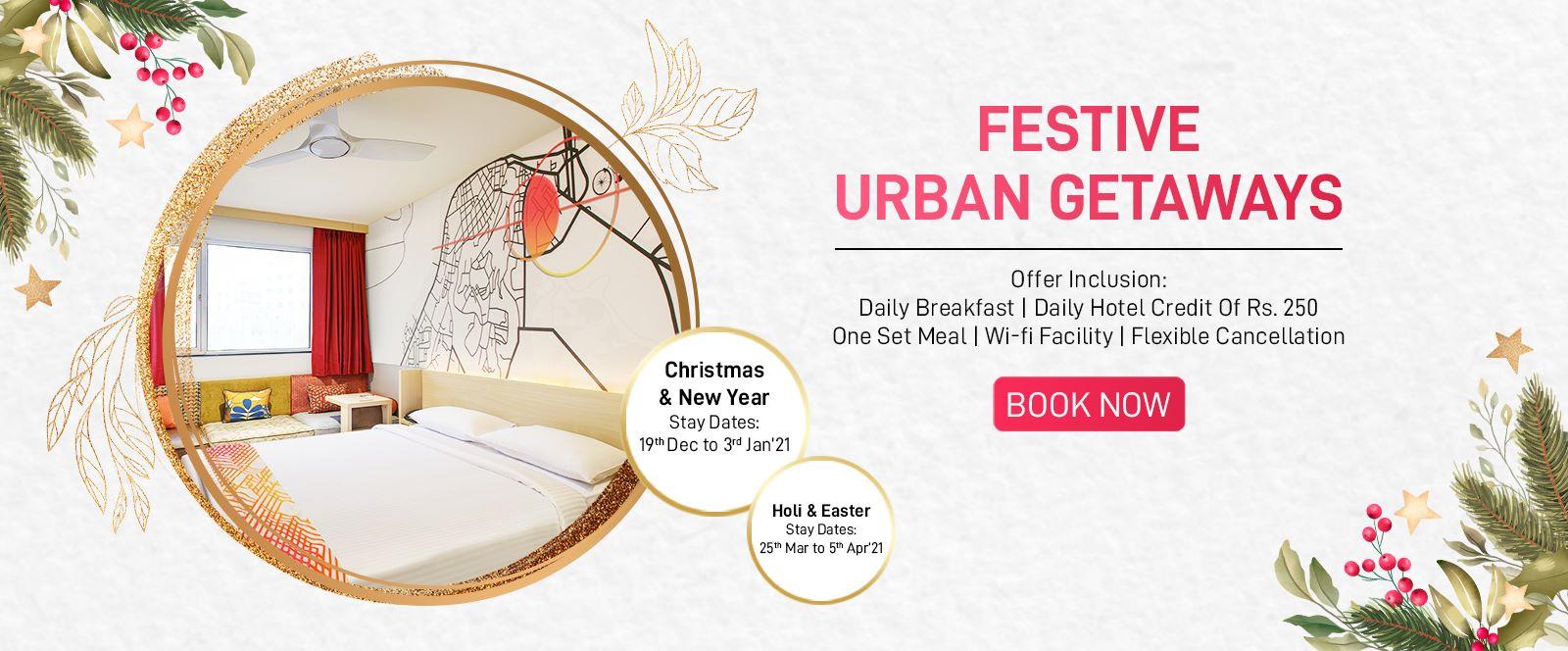 Festive Urban Getaways