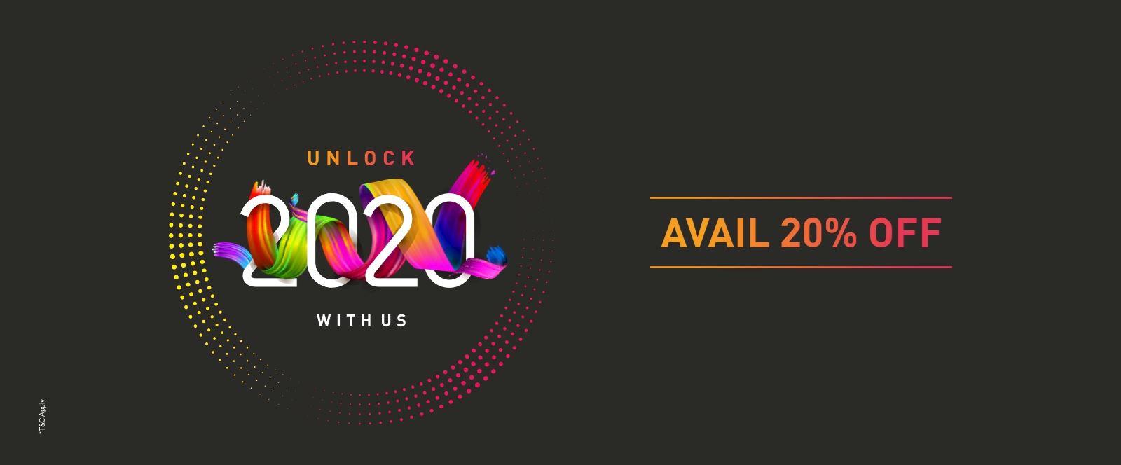 Ginger Unlock 2020 Offer