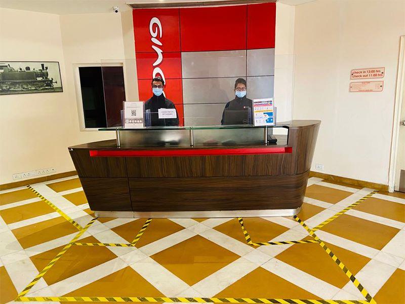 Front Desk at Ginger Delhi RYN