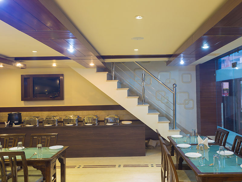Dining Area at Ginger Katra