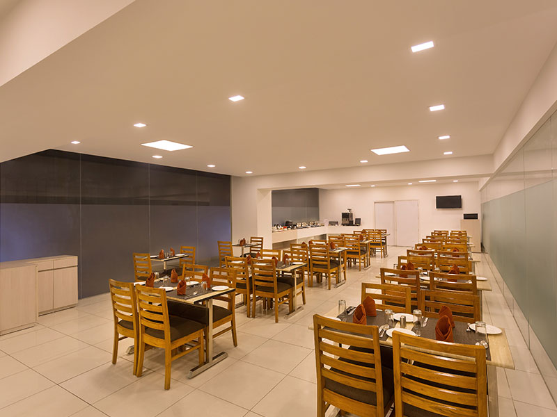 Dining Area at Ginger Noida Sector 63 (New)