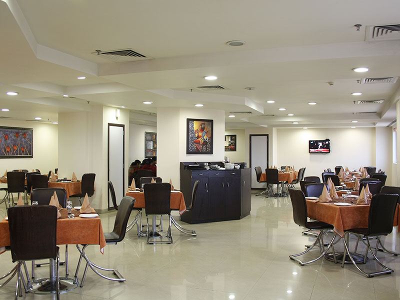 Dining Area in Ginger Faridabad
