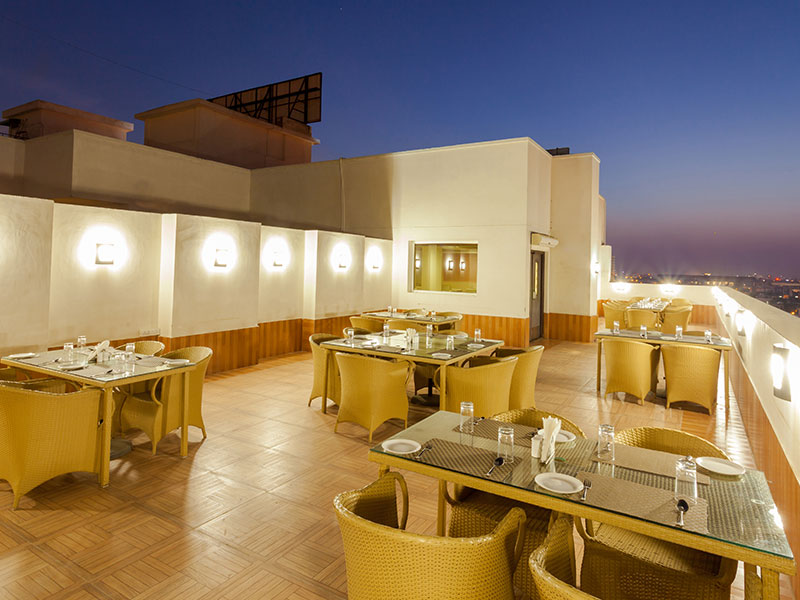 Dining at Ginger Jaipur