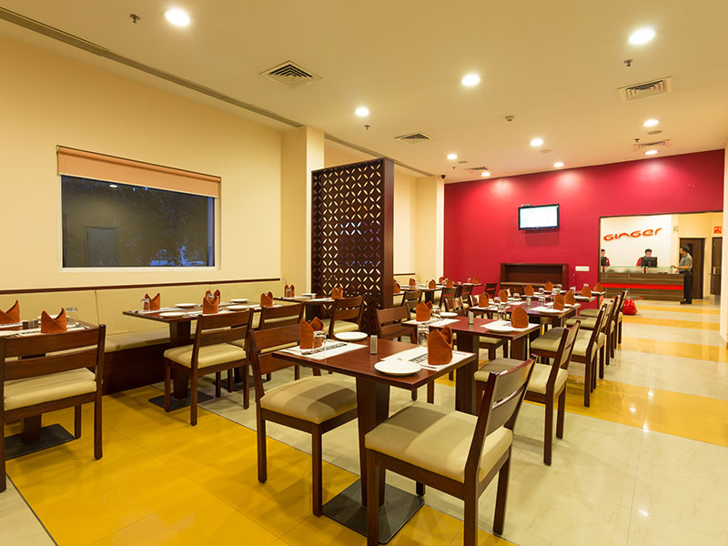 Dining at Ginger Noida Sector 63