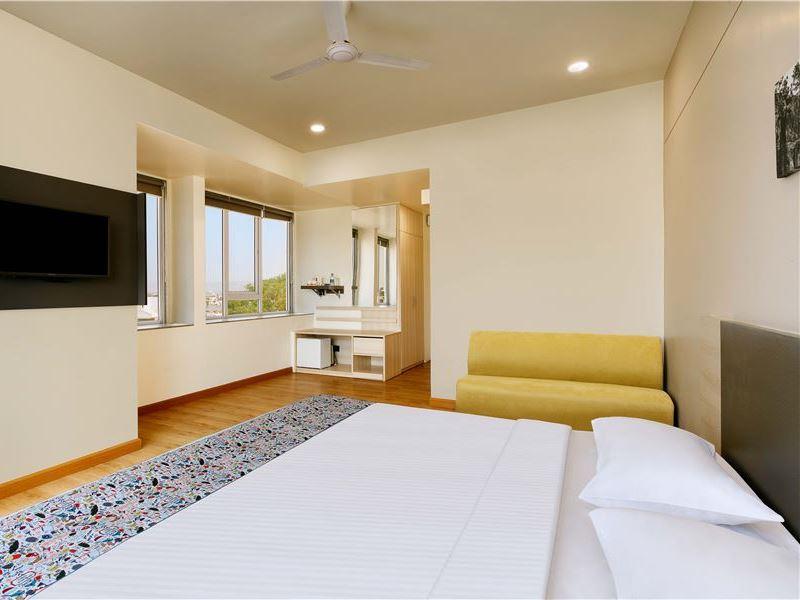 Rooms of Ginger Hotel Aurangabad