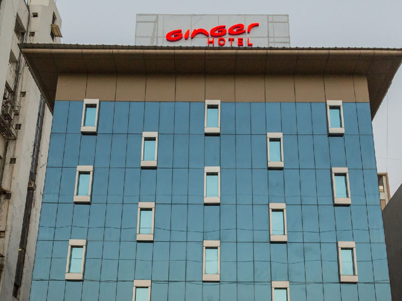 Exterior of Ginger Ahmedabad (Satellite)