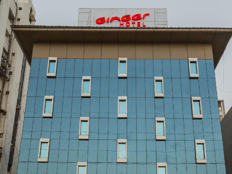 Exterior of Ginger Ahmedabad (Satellite)