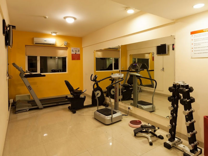 Fitness Area in Ginger Ahmedabad (Vastrapur)