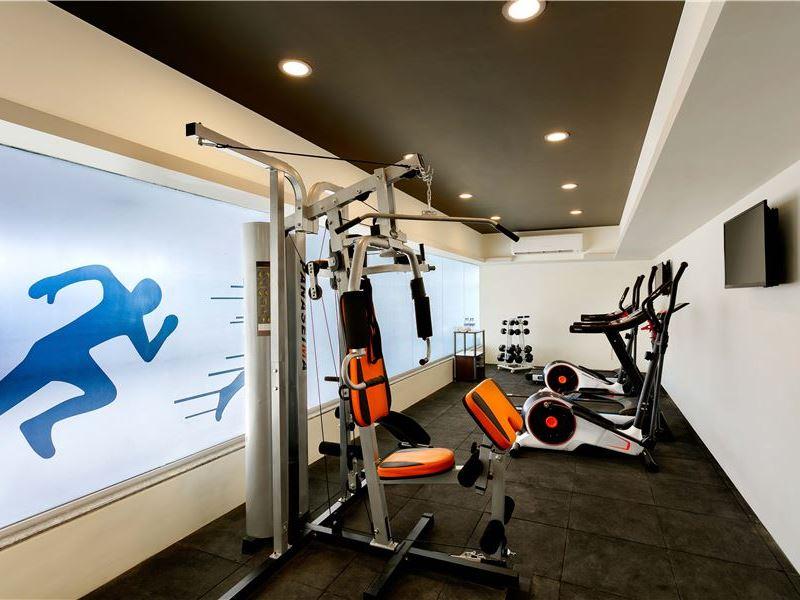 Fitness Center of Ginger Hotel Aurangabad
