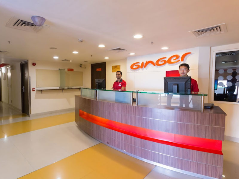Front Desk at Ginger Chennai (Tharamani, IITM)