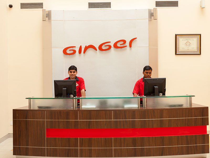 Front Desk at Ginger Jaipur