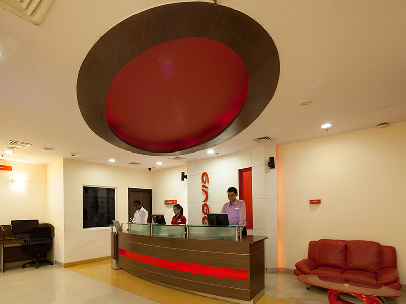 Front Desk at Ginger Mumbai (Mahakali)