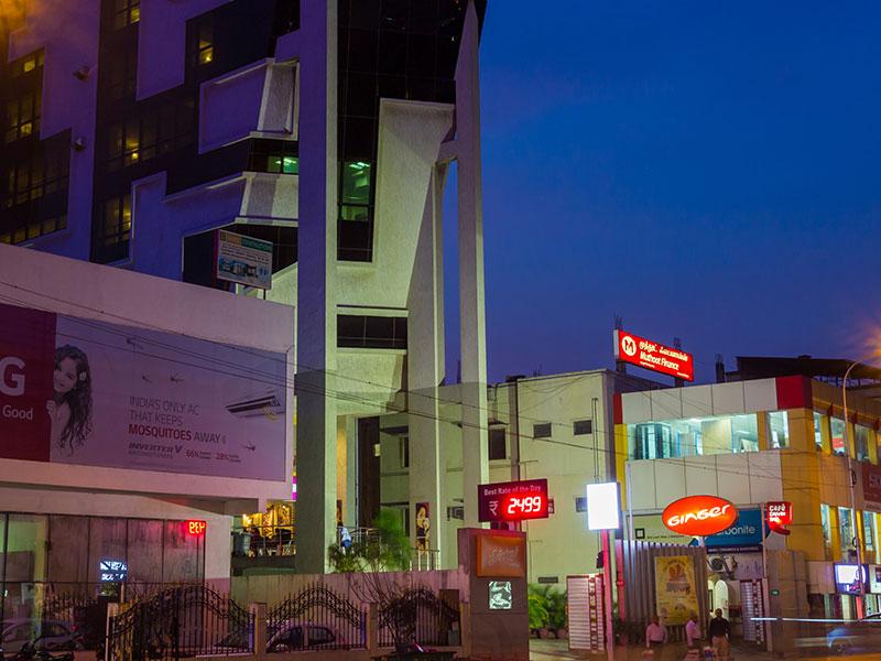 Front View of Ginger Chennai (Vadapalani)