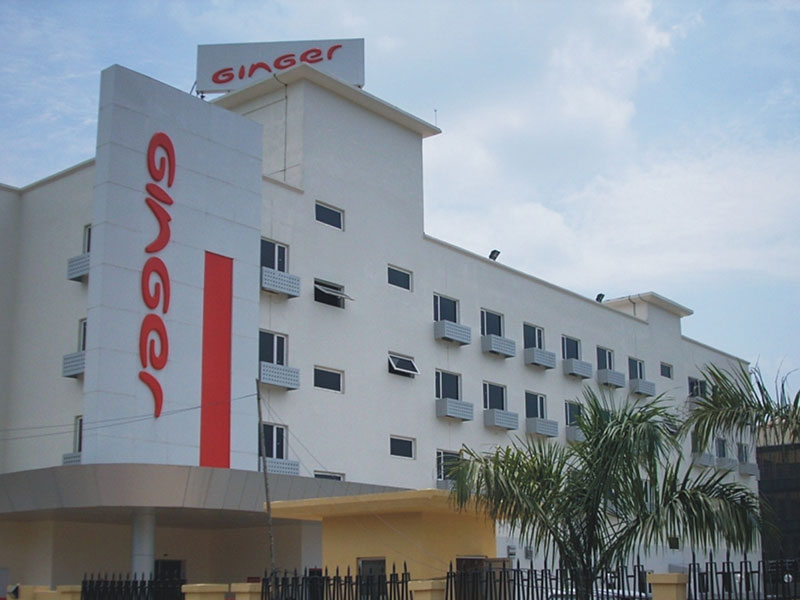 Front View of Ginger Guwahati