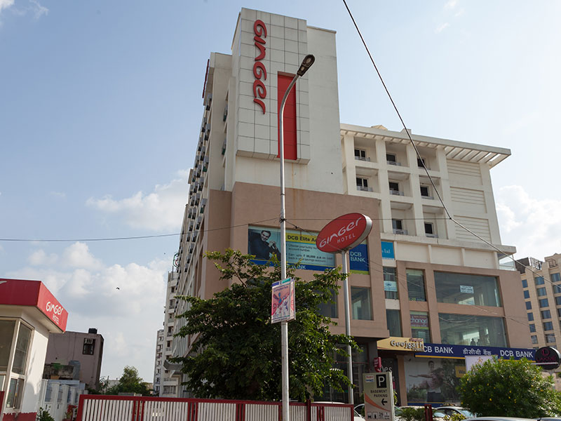 Front View of Ginger Jaipur