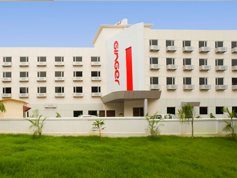 Front View of Ginger Jamshedpur