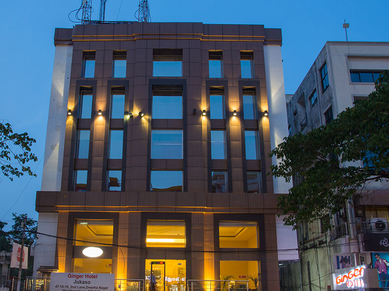 Front View of Ginger Vizag