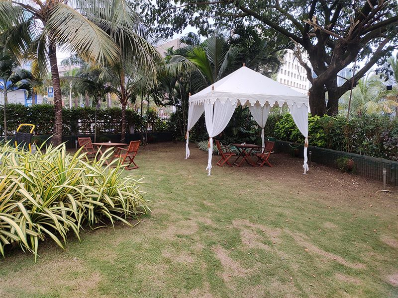Garden with Hotels in Ginger Hotels Goa Panjim