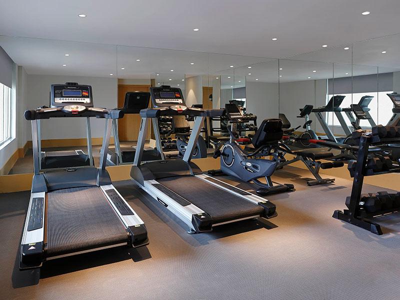 Gym at Ginger Hotels Dwarka