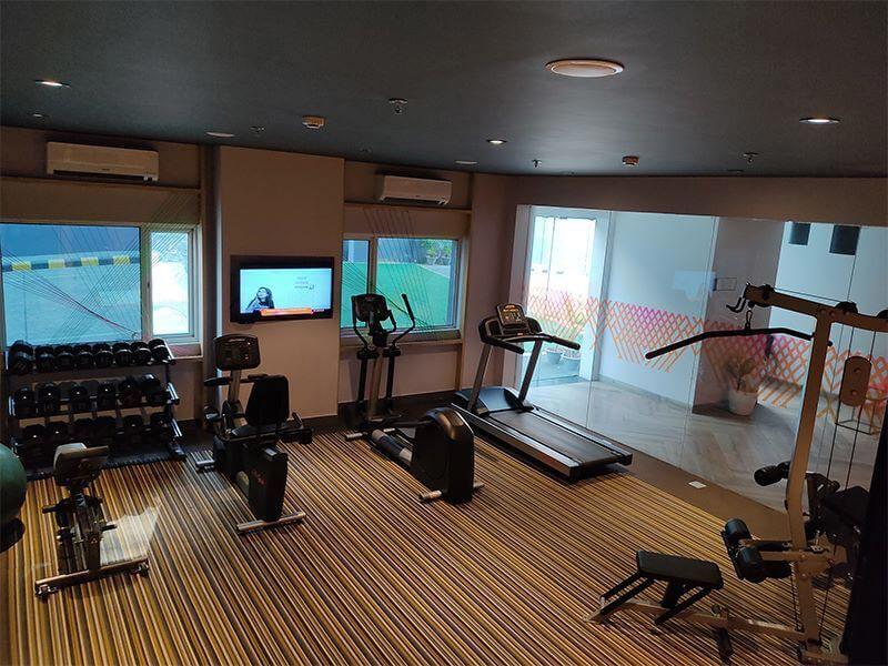 Fitness center at Ginger Bhubaneshwar