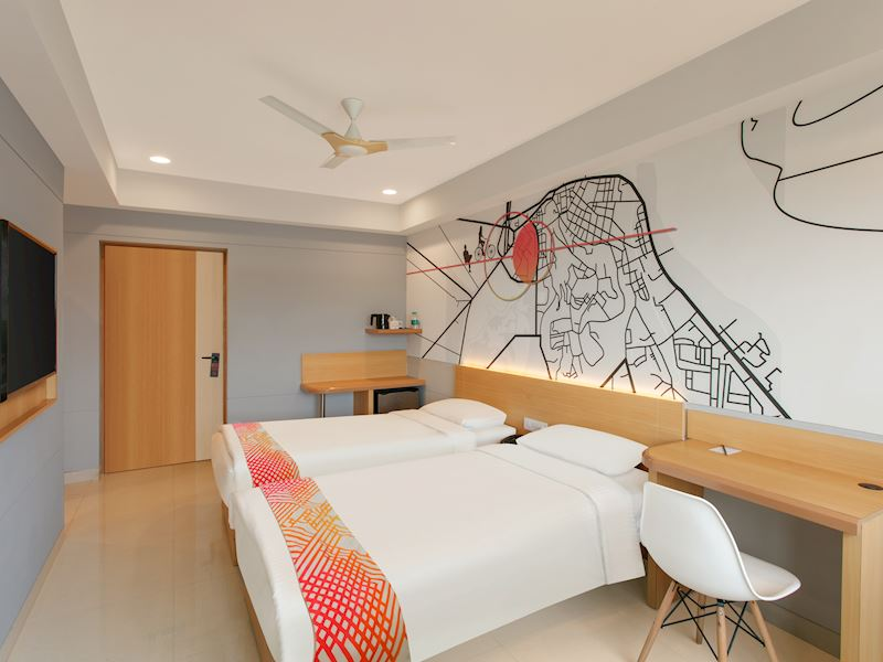 Ginger Madgaon Twin room