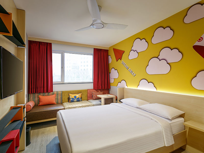 Ginger Pune Wakad Room