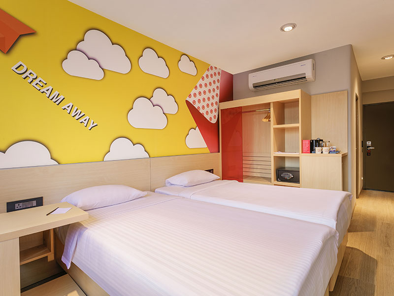 Twin Room at Ginger Pune Wakad
