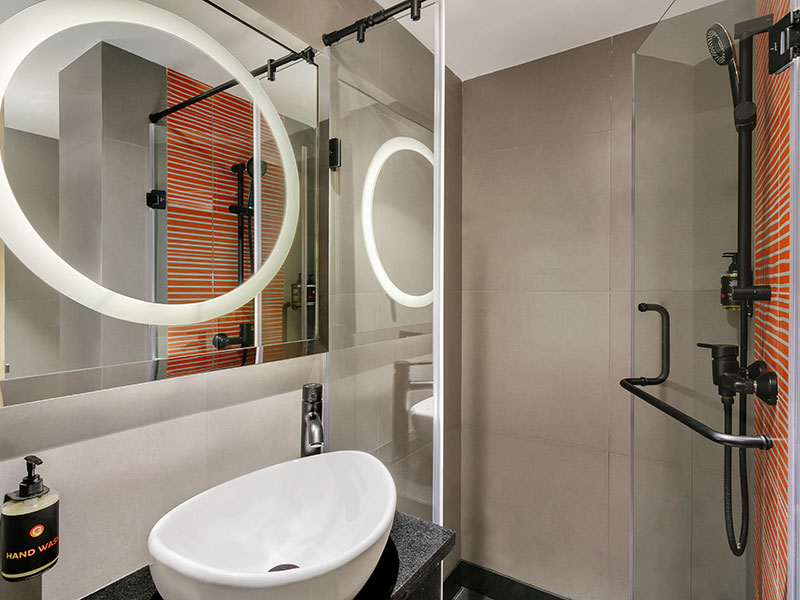 Bathroom at Ginger Pune Wakad