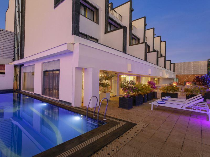 Swimming Pool at Ginger Goa, Dona Paula