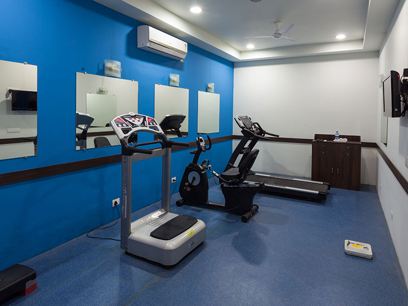 Gym Area in Ginger Jaipur