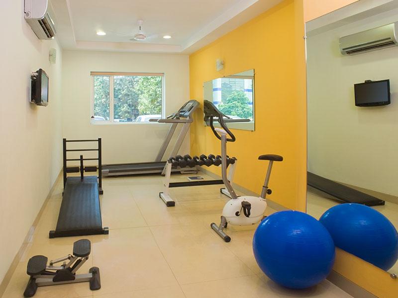 Gym at Ginger Bangalore IRR