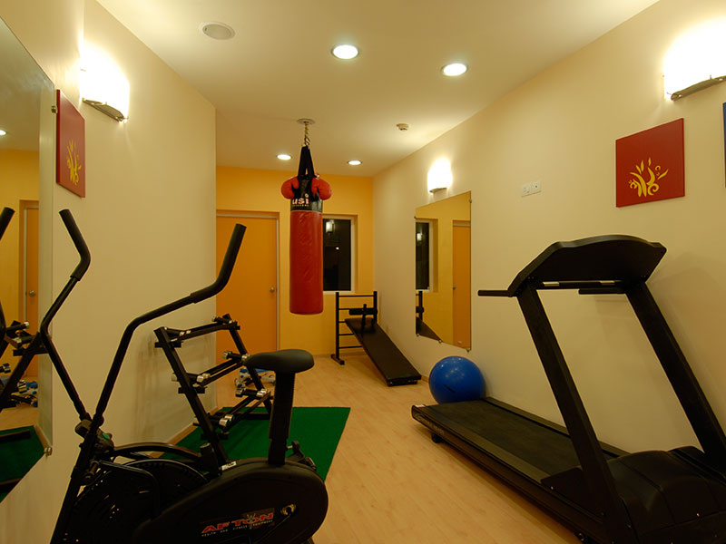 Gym at Ginger Bhubaneshwar