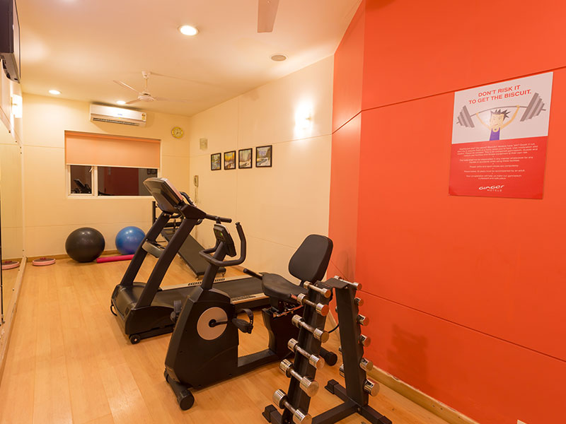 Gym at Ginger Mangalore