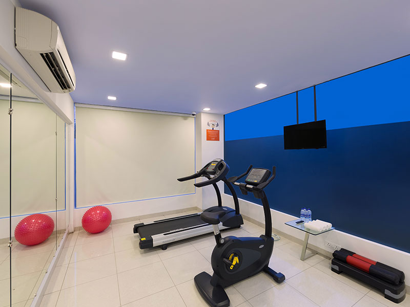 Gym at Ginger Noida City Center