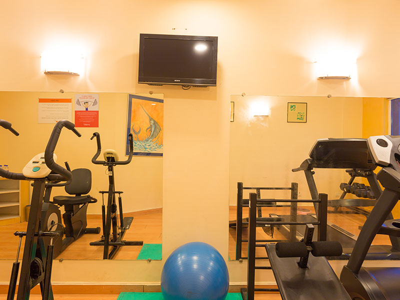 Gym at Ginger Pondicherry