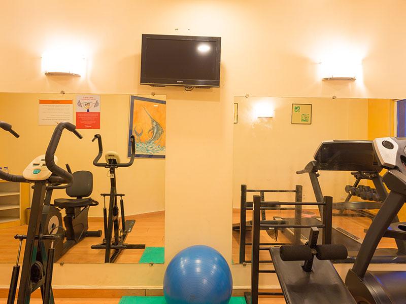 Gym at Ginger Pondicherry