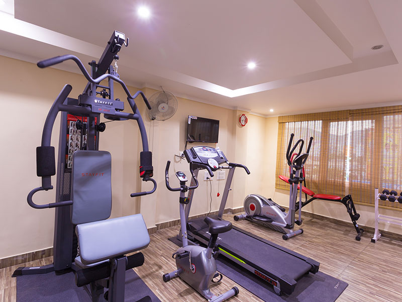 Gym at Ginger Vapi