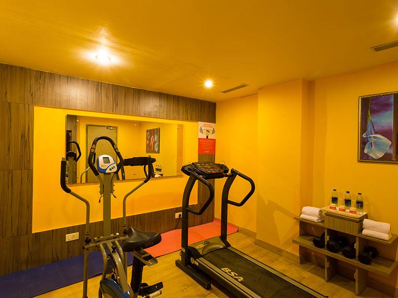 Gym at Ginger Vizag