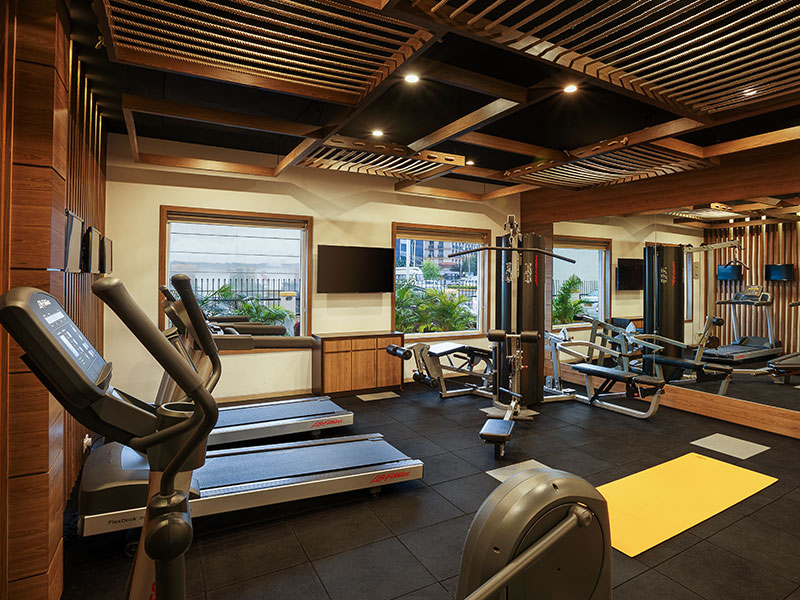 Gym in Ginger Goa