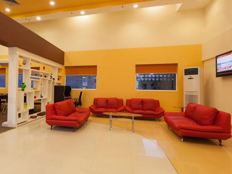 Hall at Ginger Ahmedabad (Vastrapur)