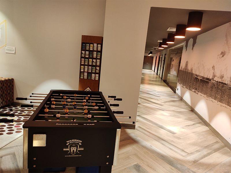 Hotel Lobby at Ginger Hotels Goa Panjim