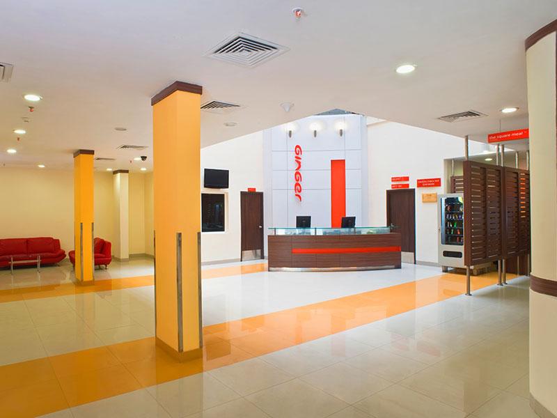 Lobby Area of Ginger Tirupur