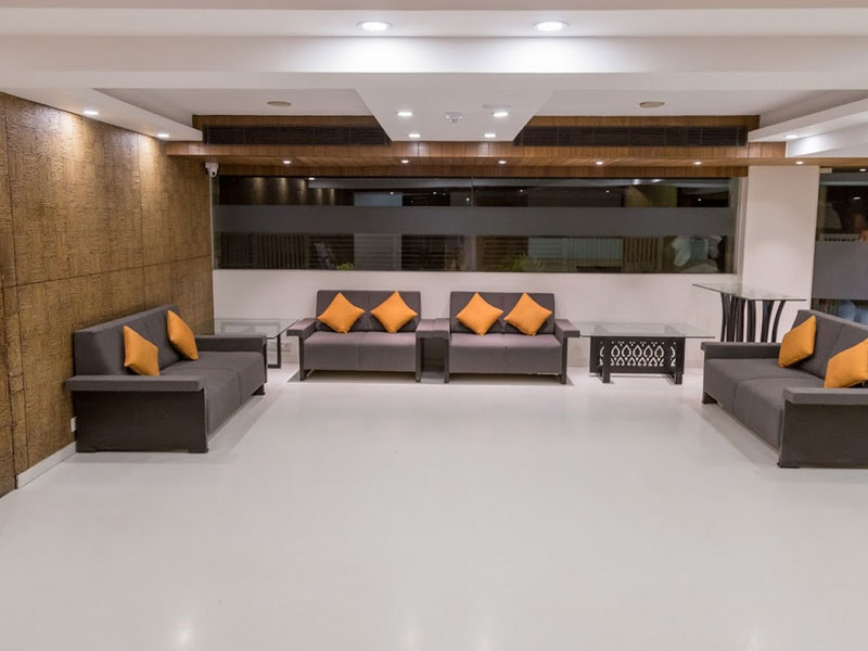 Lobby at Ginger Ahmedabad (SG Road)