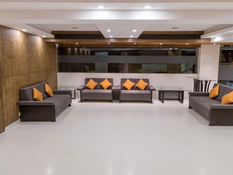 Lobby at Ginger Ahmedabad (SG Road)
