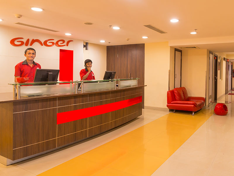 Lobby at Ginger Chennai (Vadapalani)